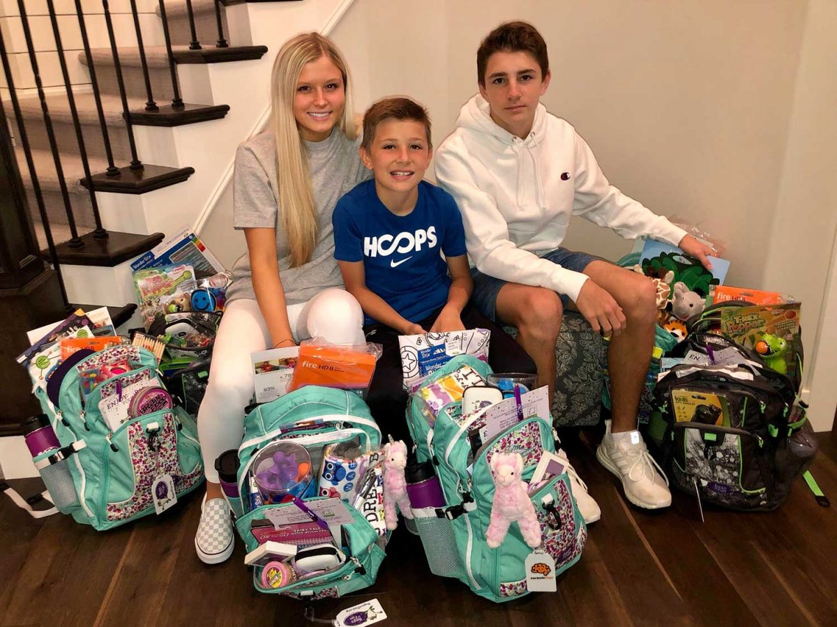 Omaha Cousins with Packed Bags