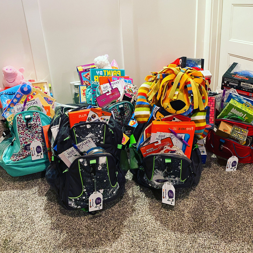 Photo of Packed Bags with Toys
