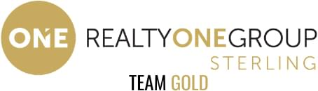 Realty One Group Sterling Team Gold Logo